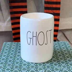 👻Rae Dunn GHOST 8.7oz Candle Brand New Never Used